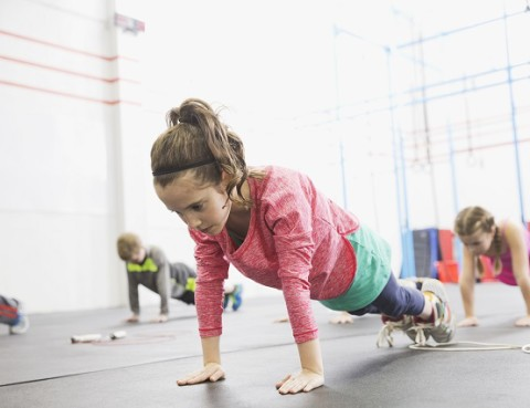 strength training for kids, dropping weight