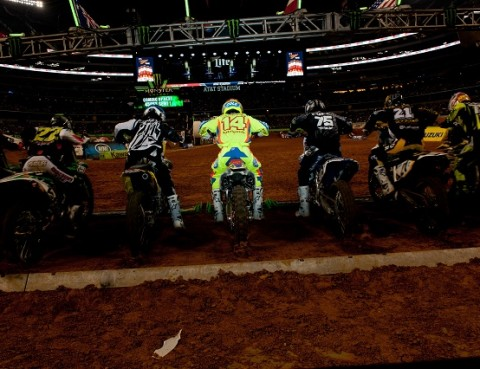 Supercross riders