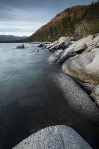 swim Sunset at Sand Harbor, Lake Tahoe State Park