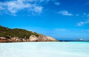 swim Wharton Beach Australia