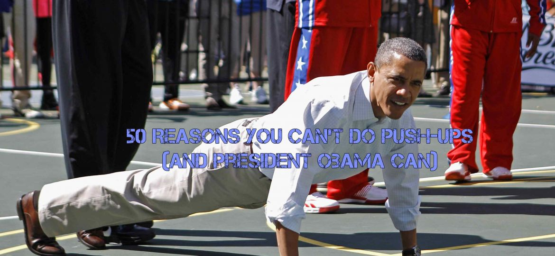 obama push-ups