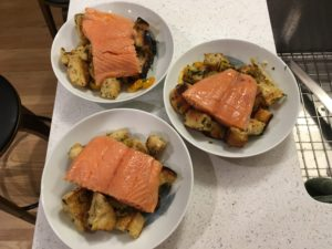 salmon-and-bread-salad