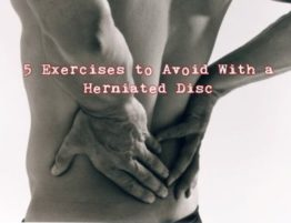 exercising with a herniated disc