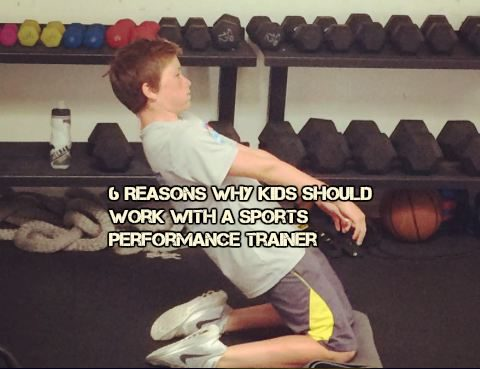 work with a sports performance coach