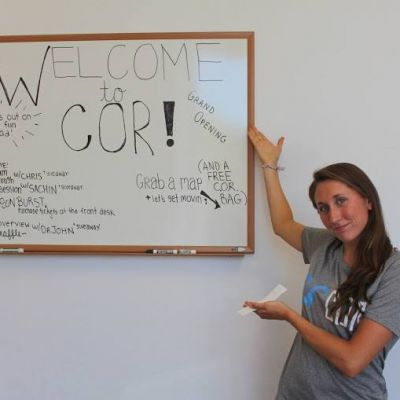cor welcome