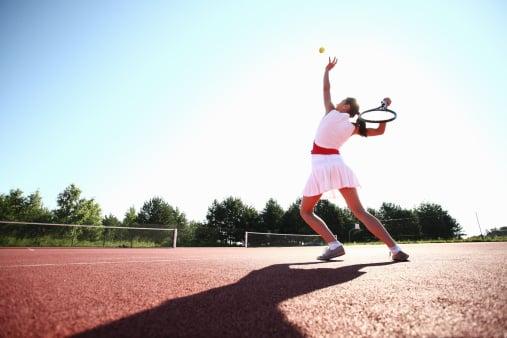 tennis, biomechanical analysis of an ankle sprain