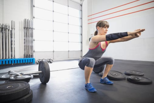 Squats for runners with recurrent ankle sprains