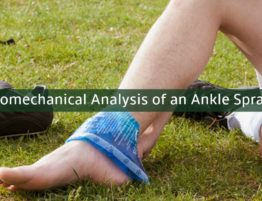 biomechanical analysis of ankle sprain