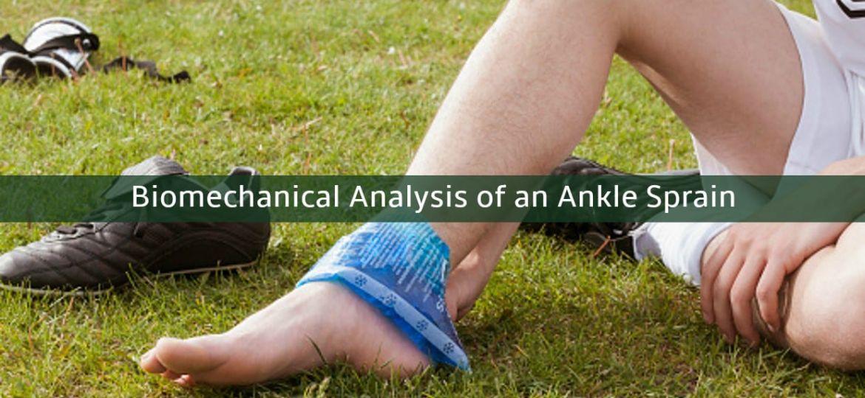 biomechanical analysis of ankle sprain