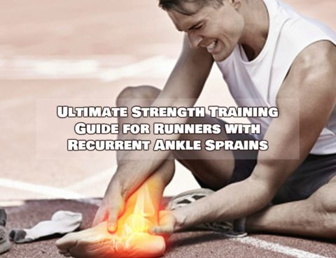 runners with recurrent ankle sprains