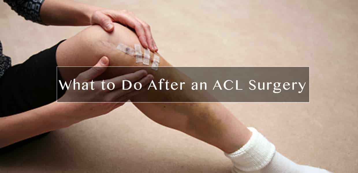 What To Do After An Acl Surgery Physical Therapy