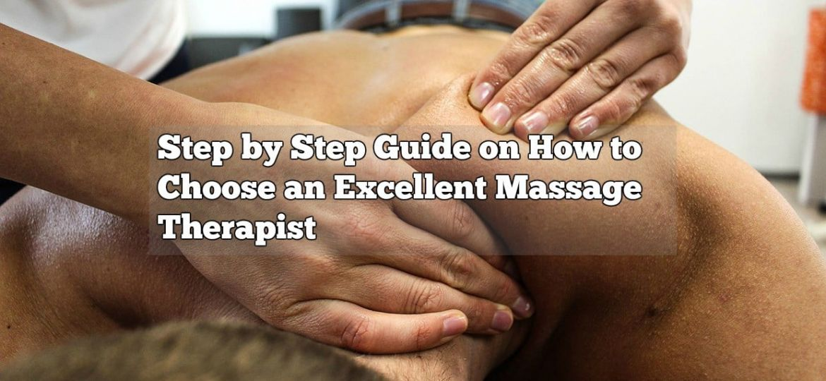 how to choose a massage therapist