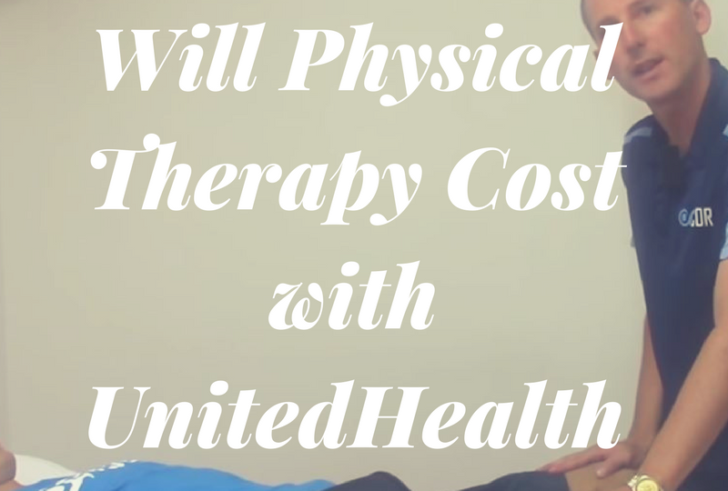 How Much Will Physical Therapy Cost With Unitedhealthcare Physical Therapy Personal Training Boot Camp
