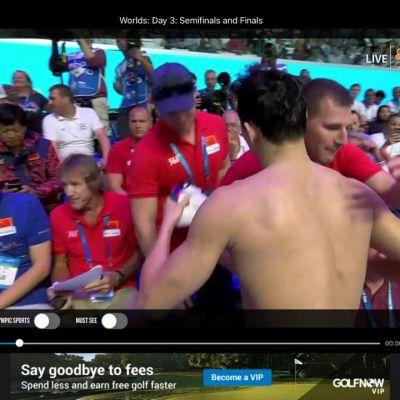 Dr. John and Sun Yang 2017 World Champs