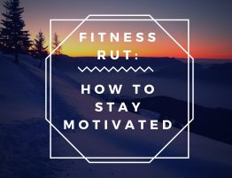 fitness rut