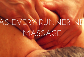 running massage