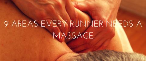 running massage
