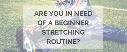 beginner stretching
