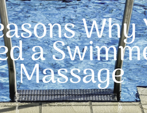 swimmers massage
