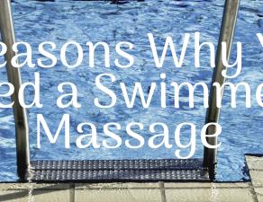swimmers massage