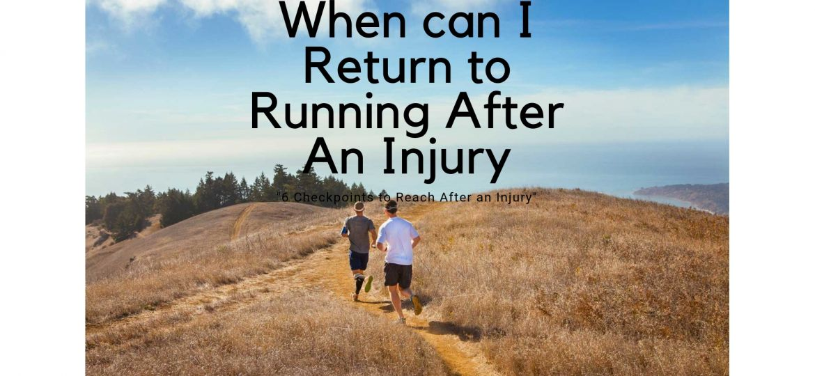 When can I Return to Running After An Injury