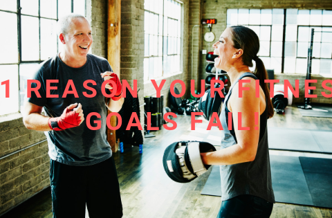 #1 Reason your Fitness Goals Fail