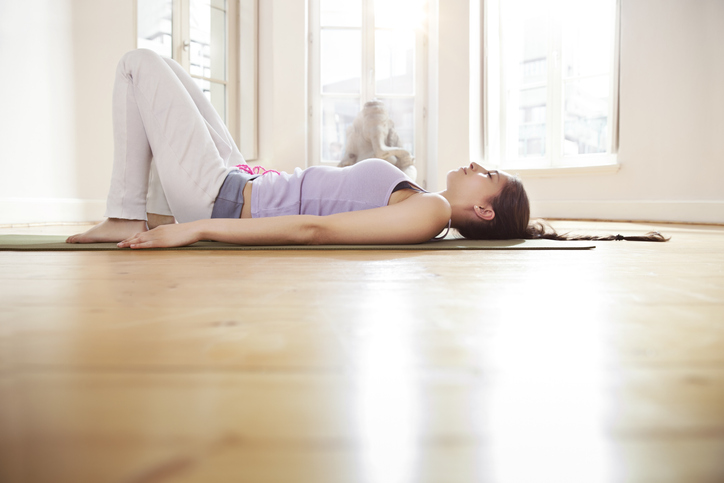 lying exercises for urinary incontinence in athletes