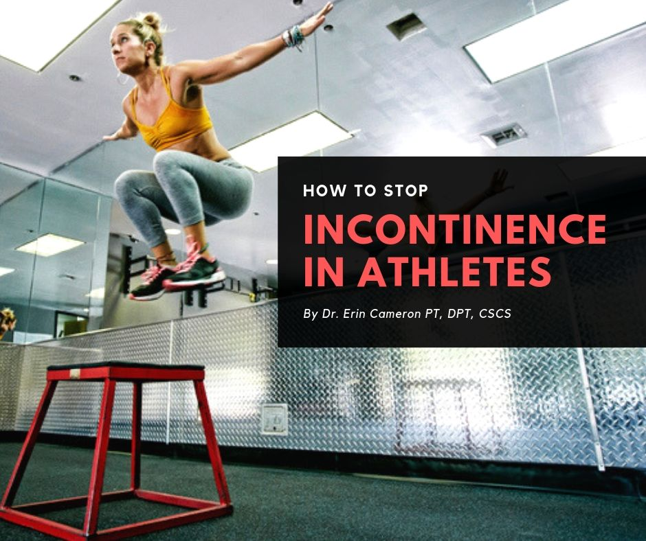 urinary incontinence in athletes