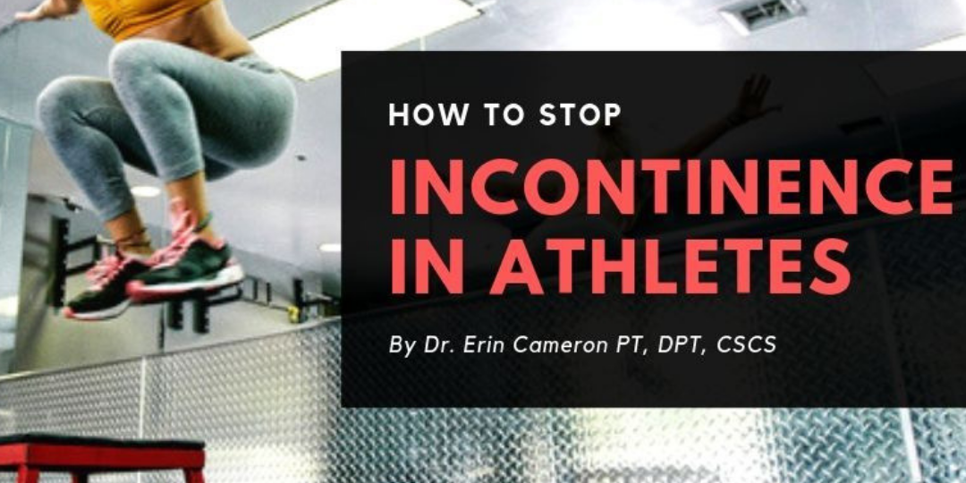 stress urinary incontinence in athletes