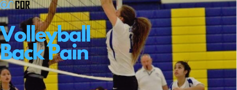 volleyball back pain