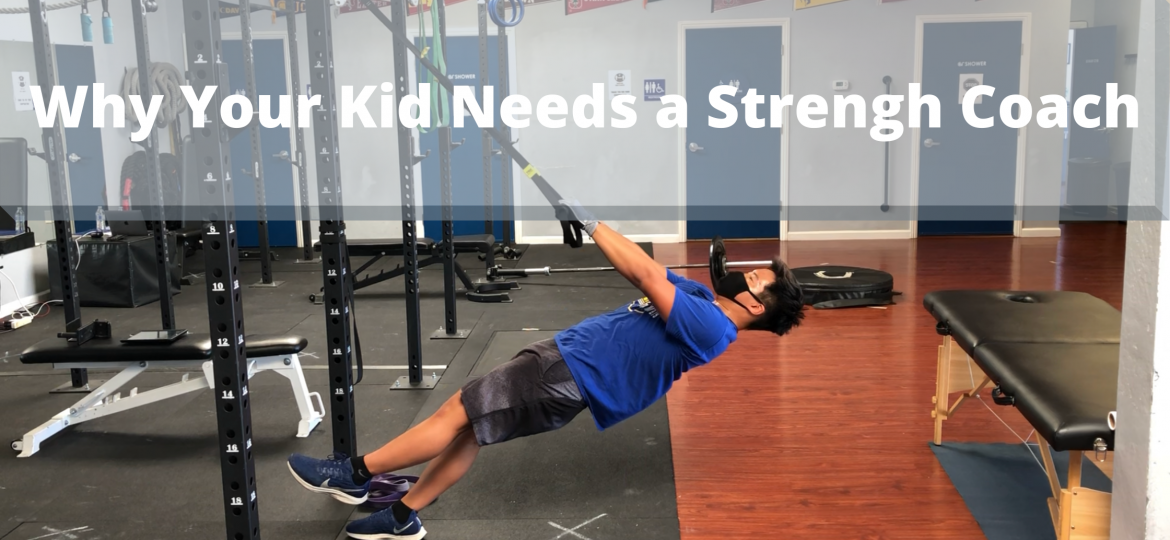 Why Your Kid Needs a Strengh Coach